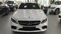 Bán Mercedes-Benz C300 AMG 2019 đủ màu, hỗ trợ vay 90% xe, hỗ trợ đăng kí giao xe. LH 0965075999