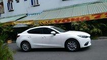 Bán gấp Mazda 3 2018 màu trắng, chính chủ, xe đi 22000 km