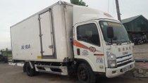 Bán xe tải Isuzu 5 tấn thùng kín, đã qua sử dụng, lòng thùng dài 6m