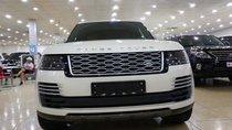Bán LandRover Range Rover Autobiography LWB đời 2019, màu trắng, nội thất nâu