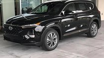 Bán Hyundai Santa Fe 2.4L 2019, màu đen