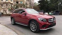 Bán Mercedes GLC 300 đời 2017, màu đỏ, xe đẹp