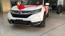 Bán Honda CR V L sản xuất năm 2018, màu trắng, nhập khẩu