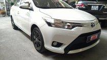 Bán Vios E số tự động 2017 màu trắng, LH 0907969685, xe cực đẹp, bảo hành chính hãng