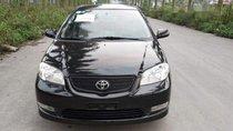 Bán Toyota Vios G năm sản xuất 2005, màu đen xe gia đình, giá 198tr
