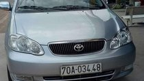 Cần bán lại xe Toyota Corolla altis sản xuất 2002, màu bạc xe gia đình