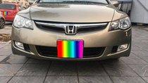 Cần bán Honda Civic 2009, số tự động, màu vàng cát