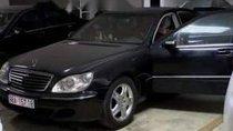 Cần bán gấp xe Mercedes S500 sản xuất 2003, màu đen, nội thất còn mới