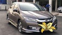 Bán ô tô Honda City 1.5AT đời 2016, màu nâu số tự động, giá chỉ 488 triệu