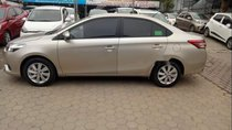 Cần bán Toyota Vios E AT đời 2018, màu vàng