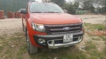 Cần bán Ford Ranger Wildtrak đời 2013, màu đỏ, xe một chủ từ đầu đi cực ít
