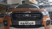 Bán Ford Ranger wildtrak 4x2 đời 2019, màu trắng, xe nhập, giá cạnh tranh, LH 0827707007