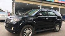 Bán xe Toyota Fortuner 2.7V 2013, màu đen, số tự động, 2 cầu, 685 triệu