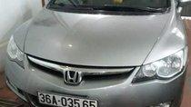 Bán xe Honda Civic đời 2008, màu bạc chính chủ, 310 triệu