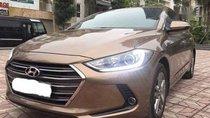 Bán Hyundai Elantra 1.6AT năm 2017, màu nâu chính chủ, 595tr