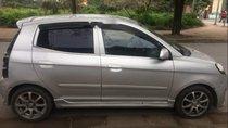 Cần bán lại xe Kia Morning sản xuất 2011, màu bạc