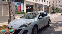 Bán Mazda 3 sản xuất 2010, màu trắng, nhập khẩu xe gia đình, 398tr