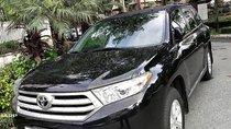 Bán Toyota Highlander SE 2.7 2011, màu đen, xe nhập