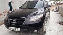 Bán Hyundai Santa Fe đời 2008, màu đen, nhập khẩu, giá tốt