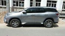Bán Toyota Fortuner sản xuất năm 2017, màu bạc, nhập khẩu nguyên chiếc ít sử dụng