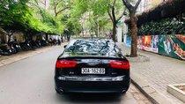 Cần bán xe Audi A6 2.0 AT sản xuất model 2014, màu đen nội thất da bò