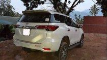 Bán Toyota Fortuner 2.4G 2018, màu trắng, xe nhập
