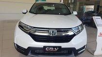 Bán Honda CRV 2019 ptặng bảo hiểm thân xe, giảm tiền mặt, tặng phụ kiện chính hãng, hỗ trợ vay trả góp
