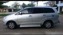 Cần bán gấp Toyota Innova G sản xuất 2007, màu bạc xe gia đình