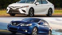"""""""Giới đạo chích"""" Mỹ mê Toyota Camry và Nissan Altima"""