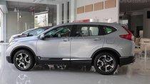 Bán xe ô tô Honda CR-V bản L, màu bạc giao ngay, tặng full option trong tháng