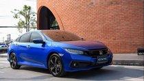 Bán xe Honda Civic năm sản xuất 2019, màu xanh lam, nhập khẩu nguyên chiếc, giá cạnh tranh