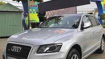 Bán xe Audi Q5 sx 2012, số tự động, máy xăng, màu bạc, nội thất màu đen, odo 100000 km