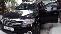 Bán Toyota Fortuner 2.7V 4x2 AT sản xuất năm 2015, màu đen, số tự động