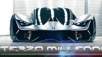 'Rửa mắt' bằng siêu xe Lamborghini Terzo Millennio - siêu xe tương lai tràn ngập công nghệ