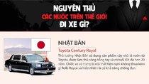 Tìm hiểu 10 mẫu xe được các nguyên thủ quốc gia sử dụng