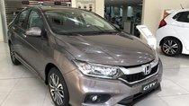 Honda City CVT 2019 màu titan, khuyến mãi lên đến 30 triệu chỉ trong tháng 6, xe giao ngay