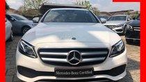 Bán xe Mercedes E250 trắng nội thất đen model 2018, chính hãng, hỗ trợ trả góp ưu đãi - Đủ màu lựa chọn và giao ngay