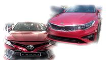 Toyota Camry 2019 và Kia Optima 2019 khuấy động phân khúc D giữa năm 2019