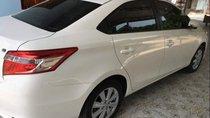 Bán ô tô cũ Toyota Vios MT năm sản xuất 2017, màu trắng