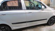 Bán xe Chevrolet Spark đời 2010, màu bạc, điều hòa mát rét