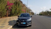 Bán Honda CR V 2.4AT đời 2015, màu đen chính chủ