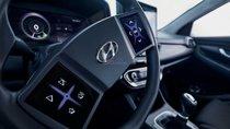 Hyundai giới thiệu ý tưởng vô-lăng tích hợp màn hình cảm ứng