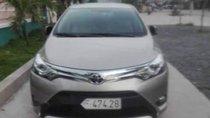 Bán Toyota Vios năm sản xuất 2017, màu vàng, giá chỉ 530 triệu