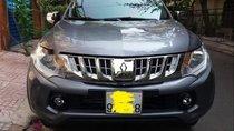 Cần bán xe Mitsubishi Triton năm 2017, màu xám, nhập khẩu số tự động