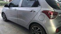 Bán Hyundai Grand i10 năm sản xuất 2017, màu bạc, xe nhập như mới