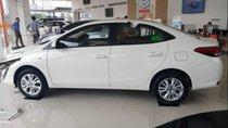 Bán ô tô Toyota Vios 1.5E 2019, màu trắng, mới 100%