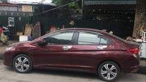 Bán lại xe Honda City 1.5AT đời 2016, màu đỏ, xe nhập chính chủ