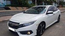 Chính chủ bán xe Honda Civic 1.5L Vtec turbo đời 2017, màu trắng, nhập khẩu