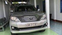 Bán Toyota Fortuner sản xuất 2015, màu bạc, máy dầu