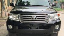 Bán Toyota Land Cruiser VX 4.6 AT 2015, màu đen, nhập khẩu nguyên chiếc